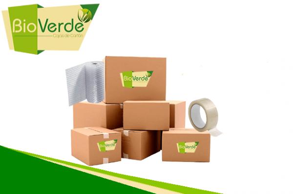 cajas de mudanza BioVerde