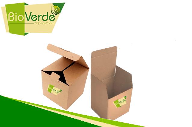 Caja de cartón enteriza BioVerde